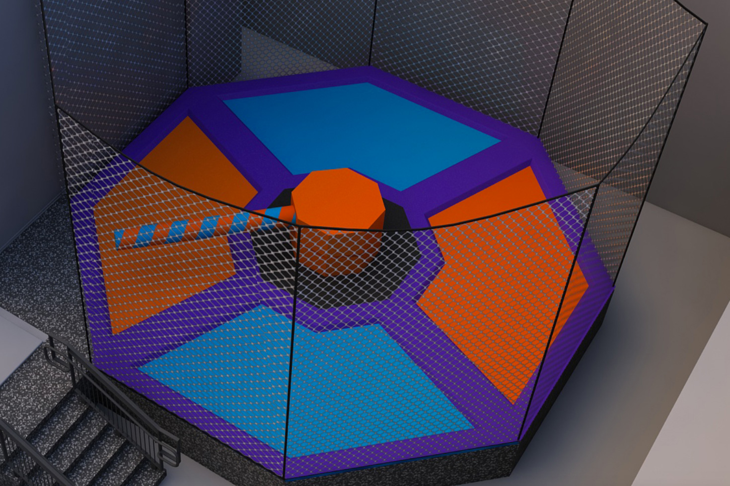 Wipeout Trampoline (coming soon)